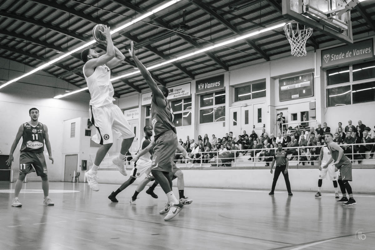 basket nm2 vanves vs vitre par laurence bichon, photographe freestyle