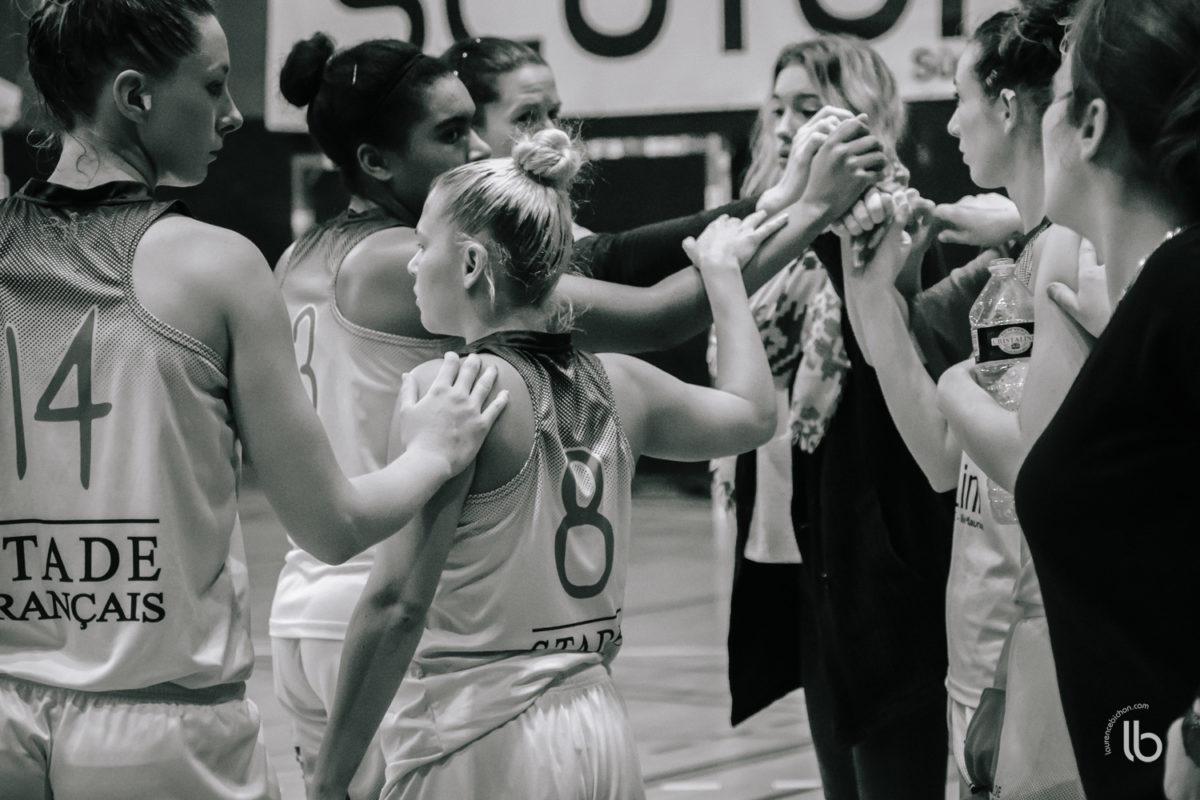 projet #allezlesfilles - basketball feminin le stade francais vs palaiseau par laurence bichon
