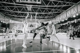 projet #allezlesfilles - basketball pro feminin mondeville face a villeneuve d'asqc par laurence bichon