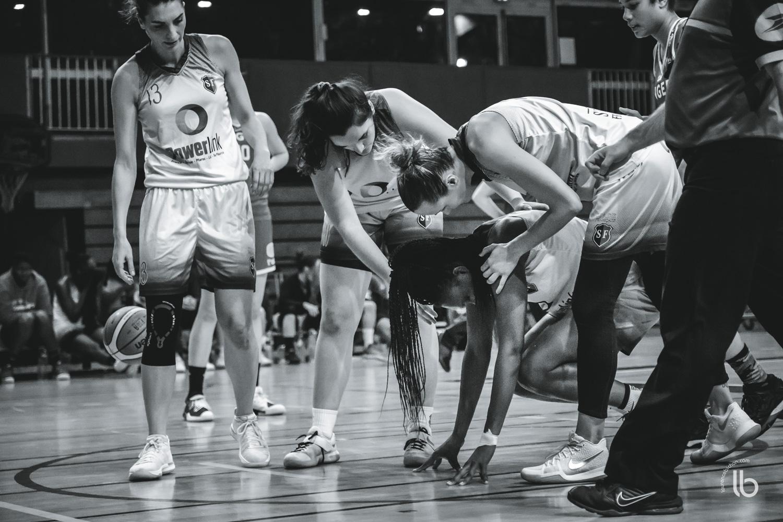 projet #allezlesfilles - basketball feminin nf2 stade francais vs angers par laurence bichon