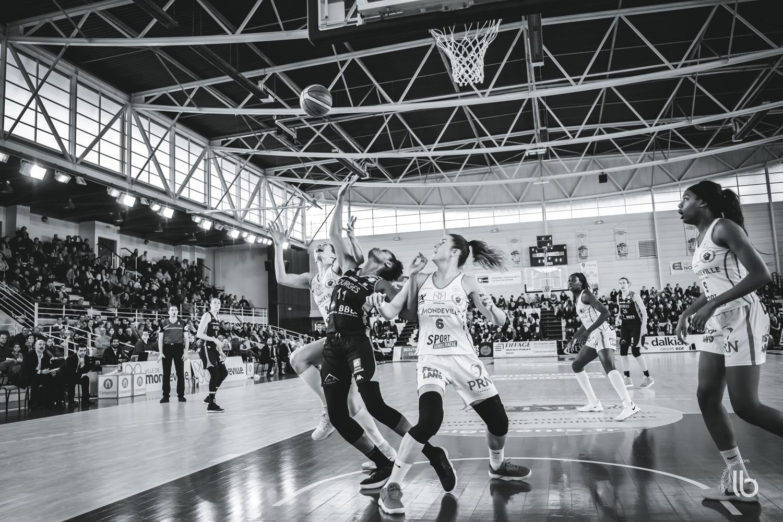 projet #allezlesfilles - basketball lfb mondeville rencontre bourges par laurence bichon