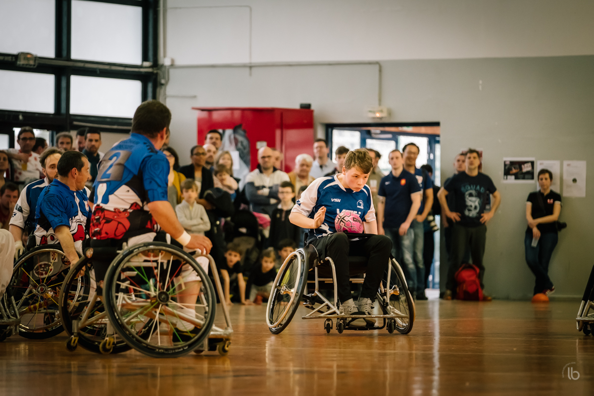 #whysportproject - rugby fauteuil #WeelchairSeven France - Ecosse  par laurence bichon