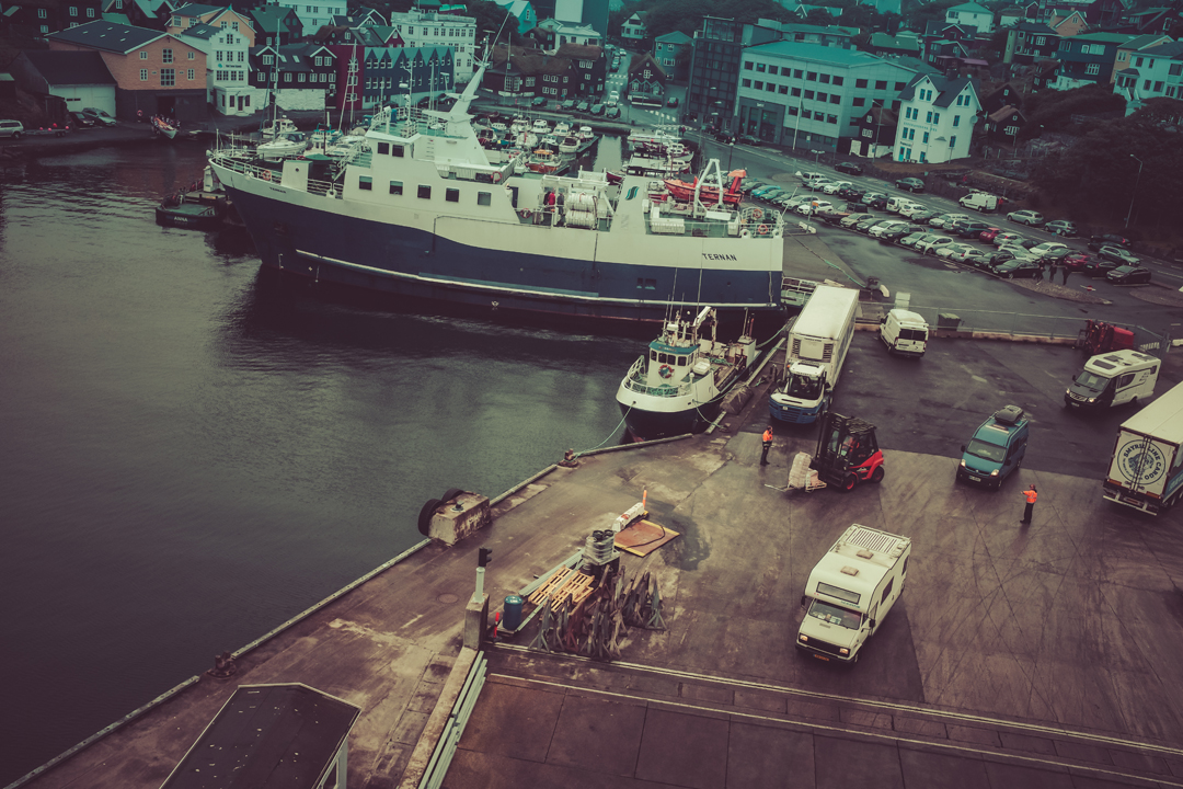 boatphotography on the ferry norrona beween hirtshals and Iceland by Laurence Bichon