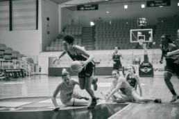 projet #allezlesfilles - basketball nf2 Bourges Espoirs rencontre Tregueux par laurence bichon