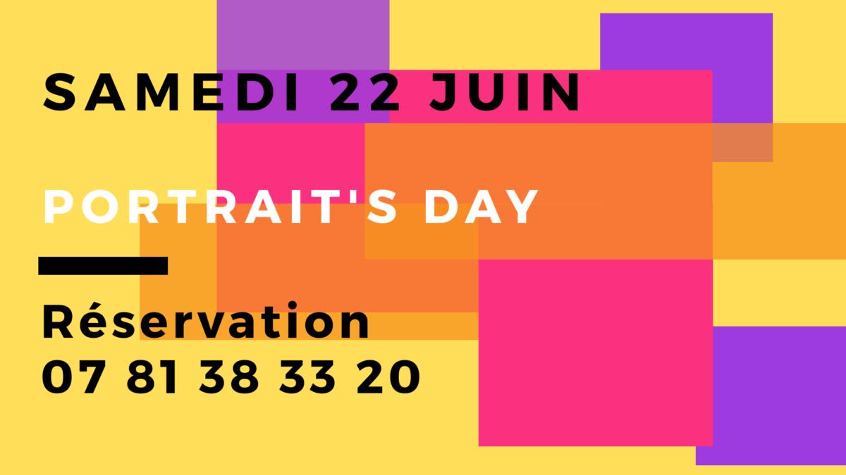 Portrait's day à Meudon : le 22 juin 2019, au studio photo, journée dédiée au portrait linkedin.