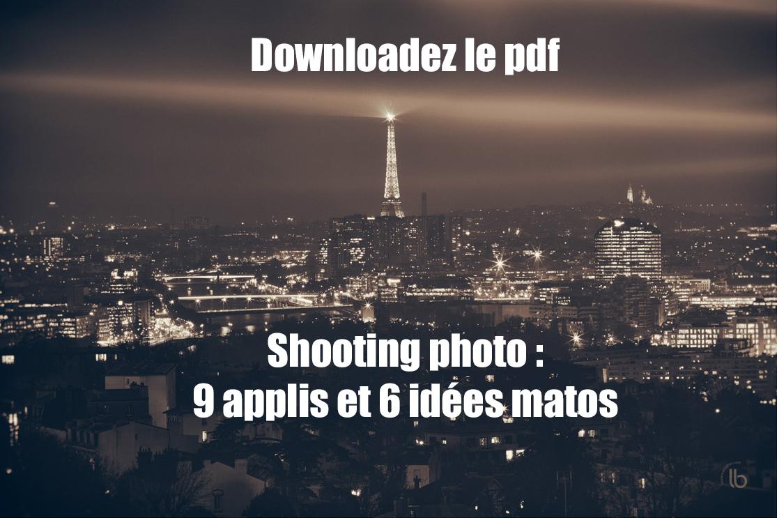 pdf shooting photo : 9 applis et 6 idées matos by laurence bichon
