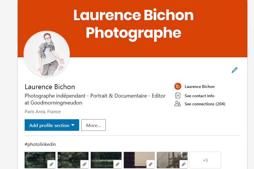 profil Linkedin de Laurence Bichon