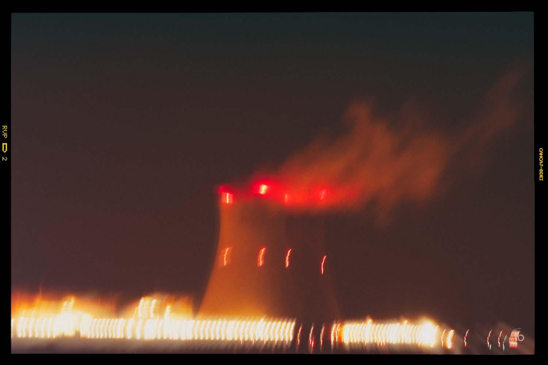 Centrale nucléaire de Doel près d'Anvers - laurence bichon photographe