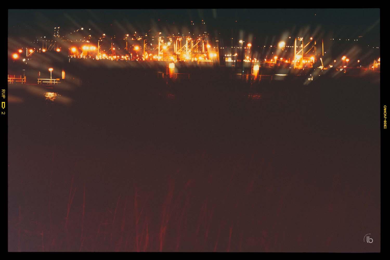 Les docks d'Anvers la nuit - laurence bichon photographe