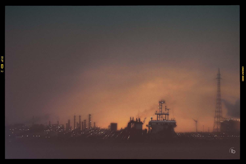 Les docks d'Anvers ne se couchent jamais - laurence bichon photographe