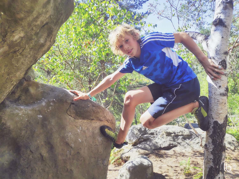 Milly-la-Foret - La Musardière - bouldering - la gorge aux chats - laurence bichon photographe