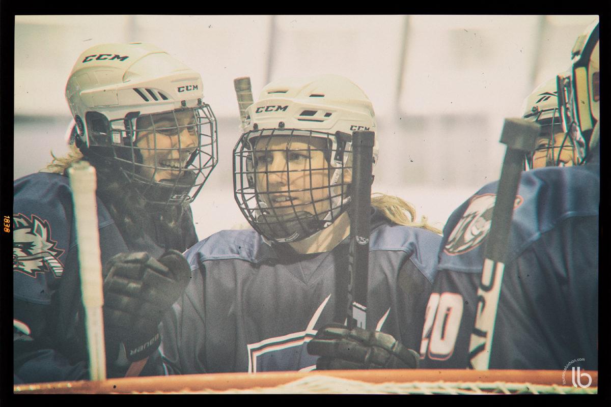 hockey féminin avec le projet #AllezLesFilles