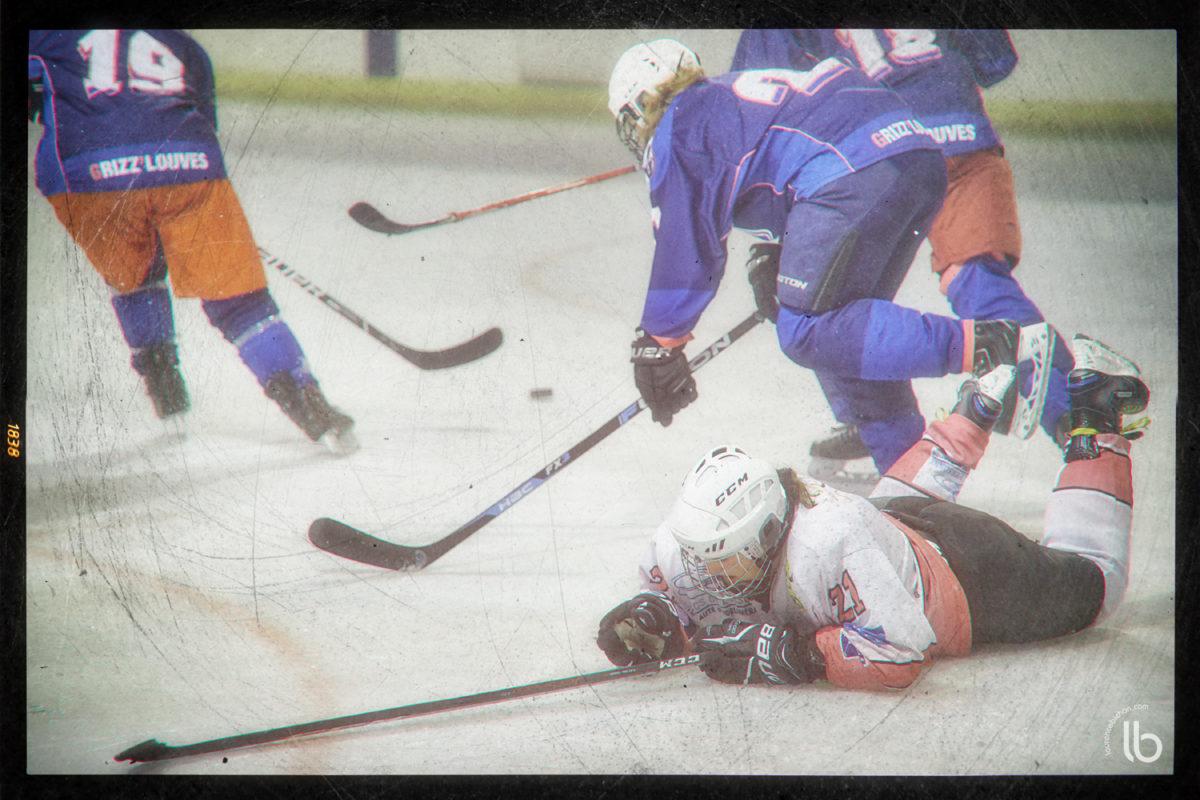 #AllezLesFilles : hockey sur glace - Evry-Viry - Garges - Saint Ouen - laurence bichon photographe