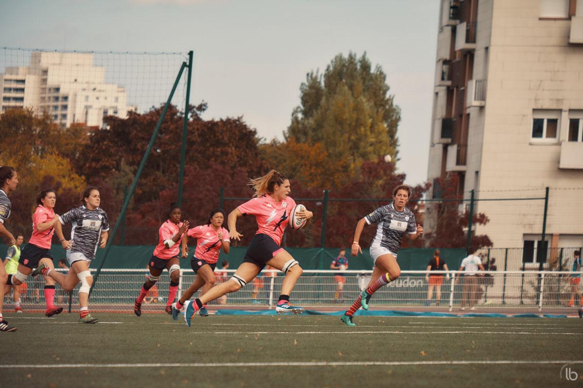 20191023 - rugby feminin - allez les filles - stade français face a lons - laurence bichon