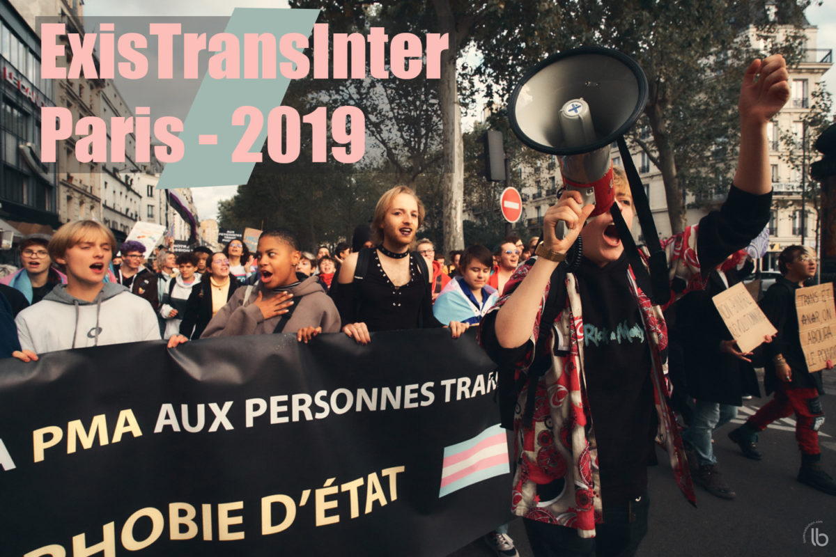 ExistransInter 2019 à Paris - by Laurence Bichon