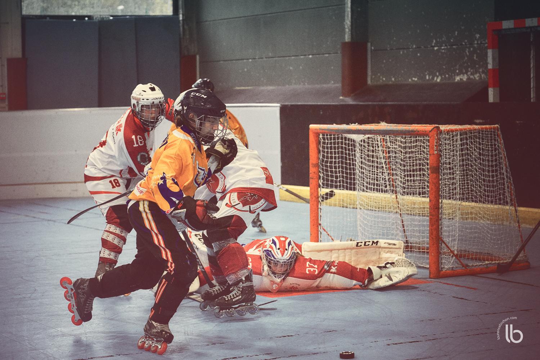 roller hockey feminin - amiens - ris orangis - dourdan - evres - laurence bichon photographe