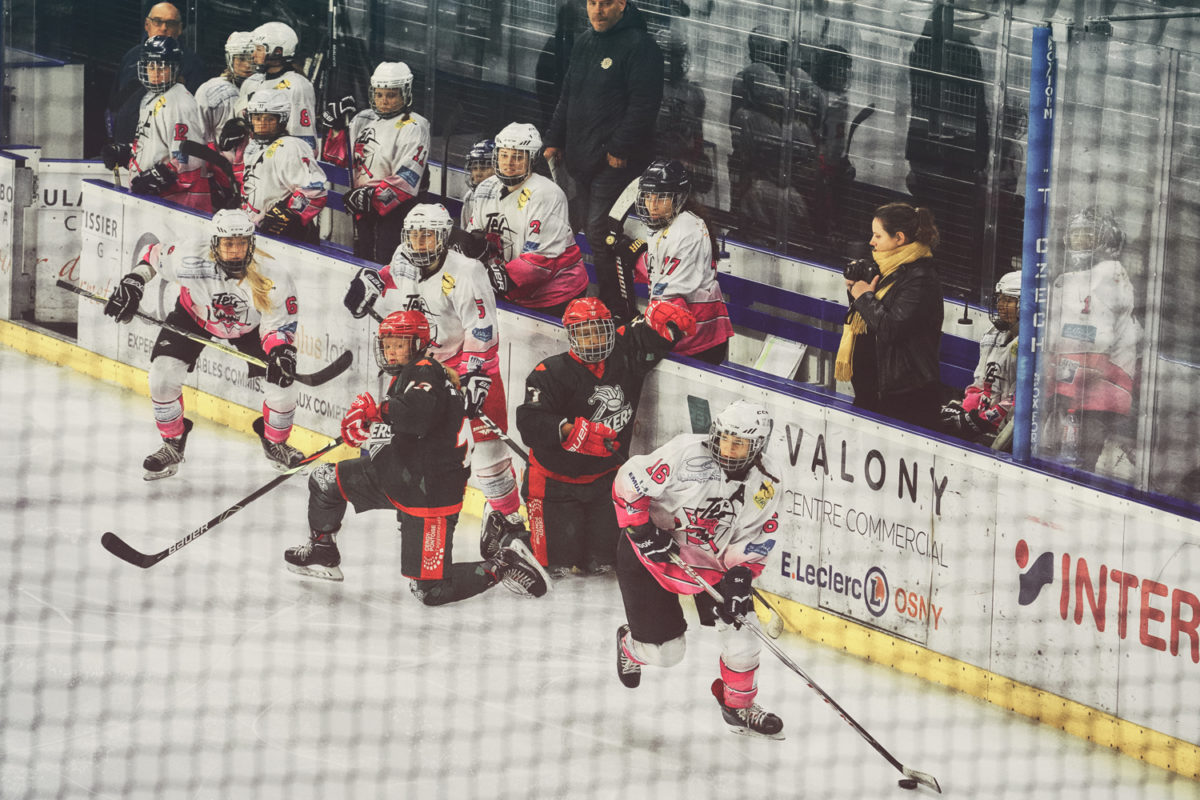 #AllezLesFilles - hockey - cergy - Ivry - Viry - by laurence bichon photographe de sport feminin