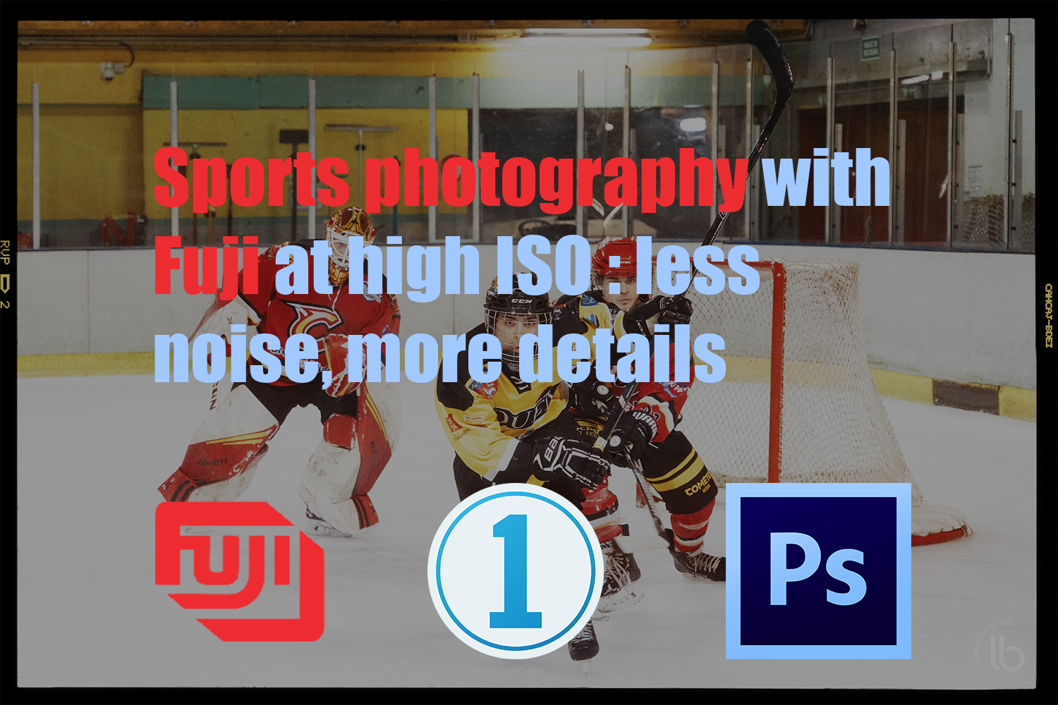 Sport Fuji Images shoot with High ISO : less noise and more details