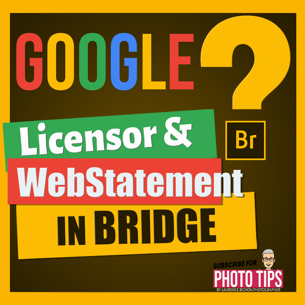 Featured Image for Google Image licensing in bridge : Webstatement and LicensorURL - Laurence Bichon Photographer