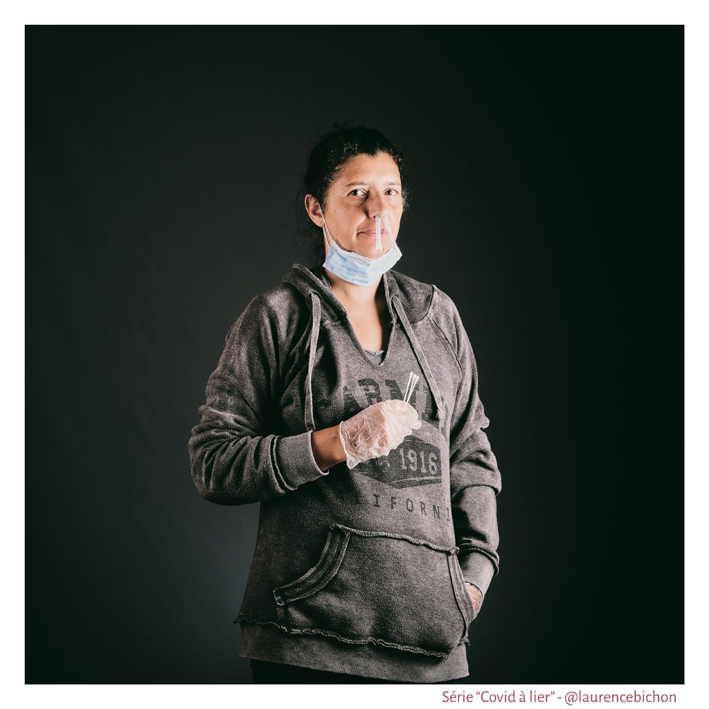 Covid à lier - Série photographique - Laurence Bichon Photographe